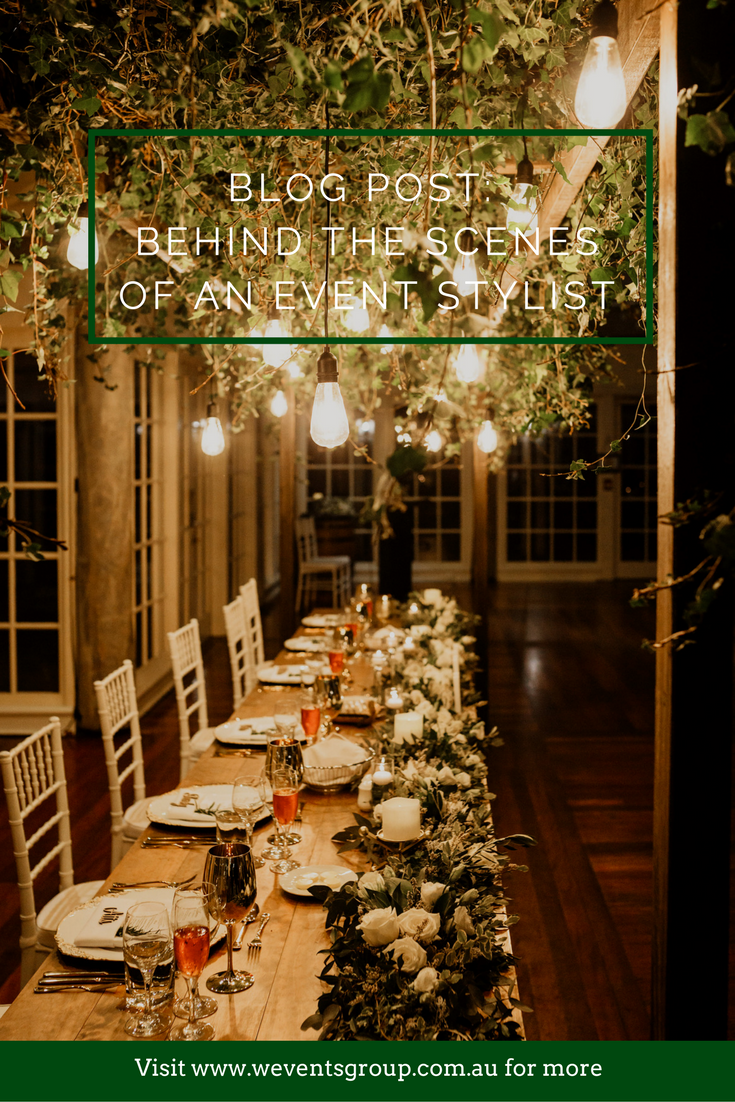 I was invited along to a luxe wedding reception set-up by W Events Group to find out what goes on behind the scenes of an event stylist.