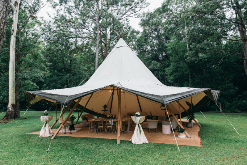 5 Top reasons to hire a tipi for your next event. W Events Group can coordinate the hire and styling of a tipi on the Gold Coast for a wedding or corporate event.