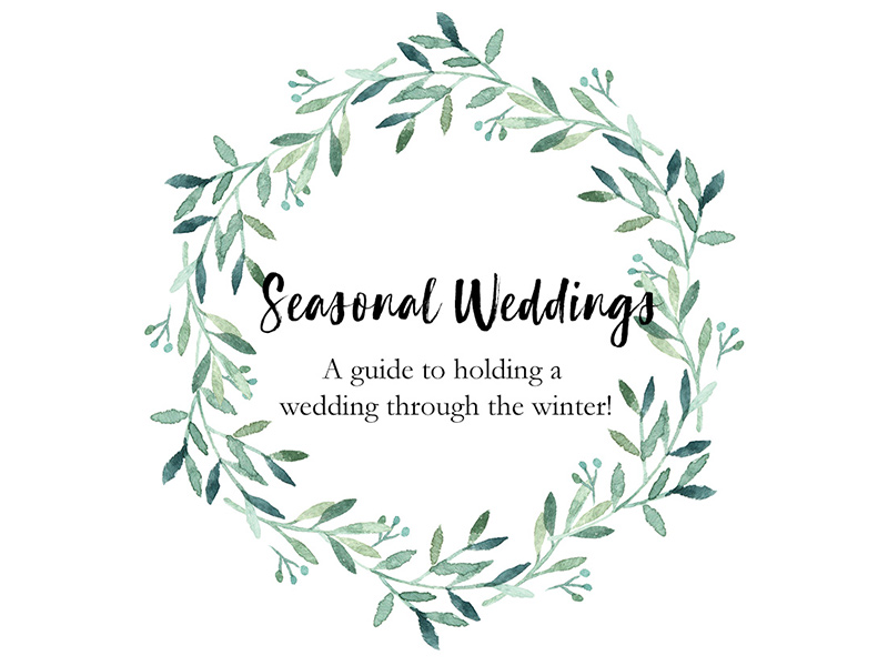 A quick guide to holding your wedding through the winter. We have got you covered, from what florals will be in bloom, the colour palette to consider and most importantly how to keep your guests warm on a winter afternoon.