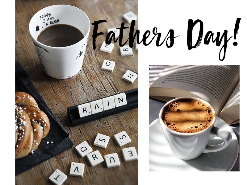 Fathers Day! September has arrived and what a better way to celebrate the beginningof spring is spending it with your loved ones torecognize your dad! Sunday 2nd of September, it's Fathers Day!