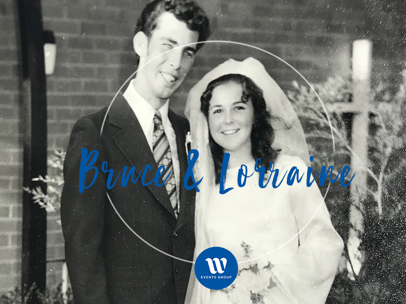 Blog Post Image Real Weddings Bruce and Lorraine black and white image