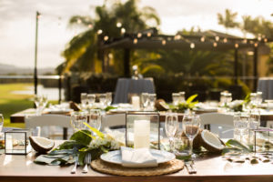W Events Group styled the deck at Mercure Resort on the Gold Coast for their showcase. Highlighting the beautiful back drop of the Palm Meadows Golf Course.