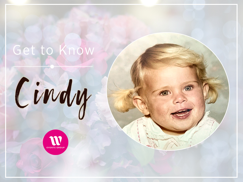 Get to know Cindy, the director of W Events Group. Here's a behind the scenes look at her life growing up on a farm before heading up W Events Group.