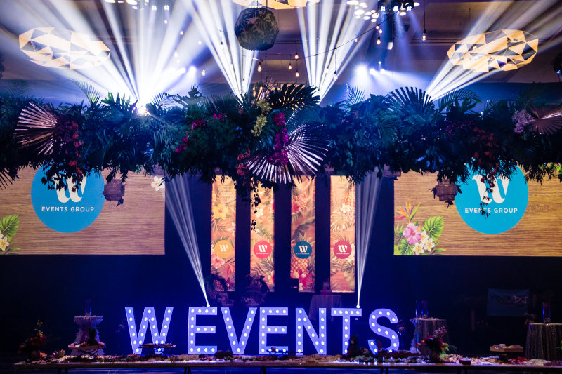 W Events Group launch party was held recently to celebrate our rebranding from Wishes Events. Professional event planners and stylists who deliver results.