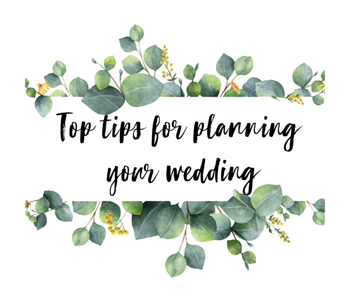 Everyone has a wedding day tip, but which ones should you follow? Our event coordinators have put their heads together to come up with the top tips for planning your wedding.