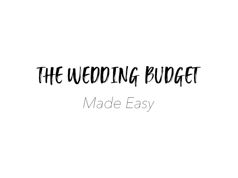 The Wedding Budget can be one of the most tedious and dreaded tasks of creating the perfect day! Whether you have a tight budget or full-blown extravaganza, we all need to accommodate for how much money we will be spending on a special day.The