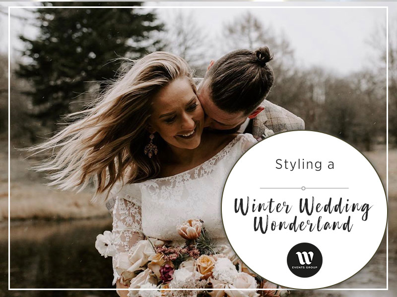 styling a winter wedding wonderland