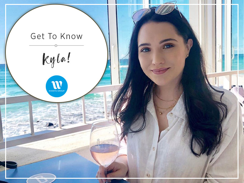 Our event stylist, Kyla, uses her attention to detail and creativity to provide our valued clients with stunning, seamless events.